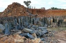 Thiếu quy định đánh giá tác động môi trường với cụm mỏ khai thác đá