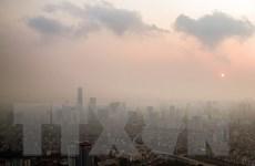 [Photo] Chất lượng không khí Hà Nội sẽ được cải thiện sau mưa