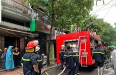 Bình Phước: Cháy cửa hàng kinh doanh quần áo, một người bị thương