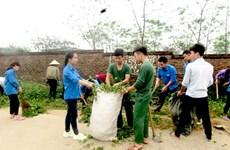Quảng Ngãi: Triển khai mô hình 'Làng không rác' ở xã Phổ Thạnh
