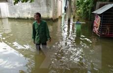 [Photo] Bình Phước: Người dân Đồng Xoài khổ sở vì ngập nước 3 tháng