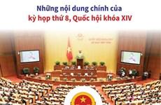 [Infographics] Những nội dung chính của kỳ họp thứ 8 QH khóa XIV