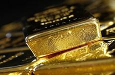 Giá vàng trên thị trường Mỹ giảm xuống mức thấp nhất 1 tuần