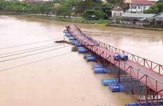 Mưa lũ gây ngập lụt, sạt lở ở các tỉnh Quảng Bình, Quảng Nam