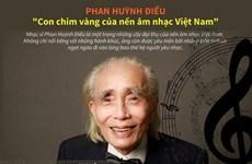 [Infographics] Phan Huỳnh Điểu - 'Con chim vàng' của âm nhạc Việt Nam