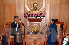 Lãnh đạo TP.HCM tiếp đại biểu Tàu Thanh niên Đông Nam Á và Nhật Bản