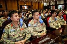 Bệnh viện dã chiến cấp 2 số 2 xuất quân làm nhiệm vụ ở Nam Sudan