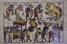 [Mega Story] Tranh Đông Hồ - dòng tranh dân gian tiêu biểu
