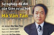 [Infographics] Sự nghiệp để đời của Giáo sư sử học Hà Văn Tấn