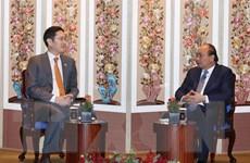 Thủ tướng Nguyễn Xuân Phúc tiếp Phó Chủ tịch Tập đoàn Samsung