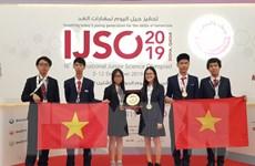 Việt Nam giành 3 HCV, 3 HCB tại Kỳ thi Olympic Khoa học trẻ IJSO 2019