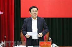 Phó Thủ tướng Vương Đình Huệ giải quyết kiến nghị của tỉnh Quảng Trị