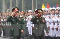 Việt Nam-Lào Ký Nghị định thư hợp tác quốc phòng 2020-2024