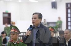 Vụ AVG: Bị cáo Nguyễn Bắc Son cảm ơn Hội đồng xét xử công tâm