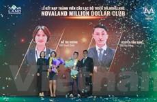 Hai thành viên đầu tiên của Novaland Million Dollar Club