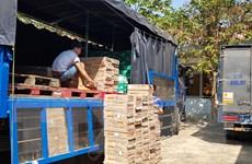 Bình Phước: Thu giữ hàng ngàn lon nước ngọt bò húc không rõ nguồn gốc