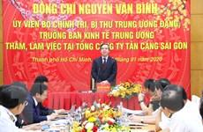 Xây dựng Tân Cảng Sài Gòn thành tập đoàn kinh tế-quốc phòng hàng đầu