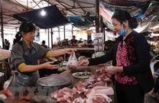 Giá thịt lợn tại thị trường Hà Nội đã có xu hướng giảm