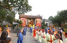 [Photo] Lễ hội Cổ Loa Xuân Canh Tý 2020 thu hút đông đảo du khách
