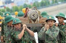 Huấn luyện giảng viên vận hành trang bị công binh hạng nặng của LHQ