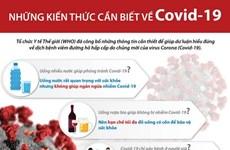 [Infographics] Những kiến thức cần biết về dịch Covid-19