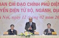 Thủ tướng: Xây nền tảng để nhân dân truy cập dịch vụ Chính phủ điện tử