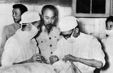[Photo] Tình cảm của Chủ tịch Hồ Chí Minh với ngành y tế Việt Nam