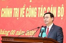 Ông Vương Đình Huệ chuyển sinh hoạt đến đoàn đại biểu Quốc hội Hà Nội