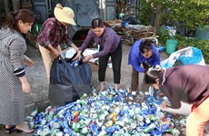 Quảng Trị: Vận động gây quỹ giúp phụ nữ nghèo từ rác thải phế liệu