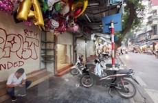 [Photo] Hàng loạt địa điểm trả cửa hàng, dừng hoạt động do COVID-19
