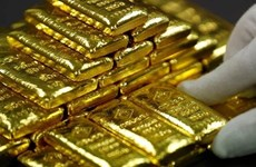 Giá vàng trên thị trường châu Á tiếp tục tăng trong phiên ngày 9/4