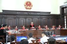 [Photo] Bắt đầu xét xử giám đốc thẩm vụ tử tù Hồ Duy Hải