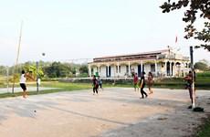 Vĩnh Phúc nâng cao hiệu quả thiết chế văn hóa thể thao cơ sở