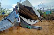 Ninh Thuận: Khẩn trương khắc phục thiệt hại do mưa to kèm lốc xoáy