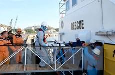 Cứu nạn một thuyền viên bị thương khi đánh bắt hải sản ở Trường Sa