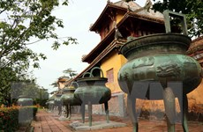 Ngắm bộ Cửu đỉnh - biểu tượng chính thống của vương triều nhà Nguyễn
