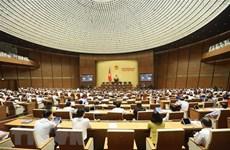 Quốc hội biểu quyết Luật và Nghị quyết, thảo luận 2 dự thảo Luật