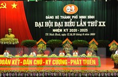 Ninh Bình rút kinh nghiệm từ Đại hội điểm Đảng bộ thành phố