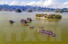 [Photo] Chiêm ngưỡng vẻ đẹp tiên cảnh ở Khu du lịch Tam Chúc