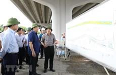 Bí thư Thành ủy Hà Nội đôn đốc đẩy nhanh dự án giao thông trọng điểm