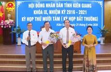 Thủ tướng phê chuẩn kết quả bầu Phó Chủ tịch UBND tỉnh Kiên Giang