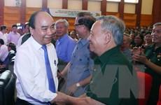 [Photo] Thủ tướng dự kỷ niệm 70 năm truyền thống thanh niên xung phong