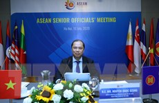 ASEAN 2020: Hội nghị trực tuyến các quan chức cao cấp ASEAN