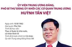[Infographics] Phó Bí thư Đảng ủy Khối các cơ quan TW Huỳnh Tấn Việt