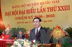 Hà Nội: Huyện Quốc Oai phát triển theo hướng đô thị sinh thái