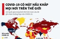 [Infographics] COVID-19 có mặt ở hầu khắp mọi nơi trên thế giới