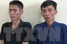 Hải Dương: Tạm giữ 2 đối tượng nghiện ma túy mang theo súng