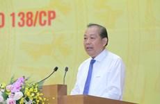 Phó Thủ tướng: Kiên quyết xử lý cán bộ, công chức tiếp tay tội phạm