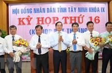 Phê chuẩn kết quả bầu Phó Chủ tịch Hội đồng nhân dân tỉnh Tây Ninh