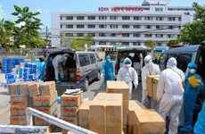 [Photo] Đà Nẵng tiếp sức đội ngũ y tế và bệnh nhân tại khu vực cách ly